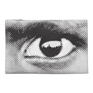 Eye 1 zipper pouch travel accessories bags