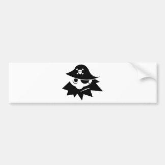eye-34244  eye silhouette skull cartoon bones hat bumper sticker