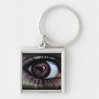 Eye <3 U Keychain