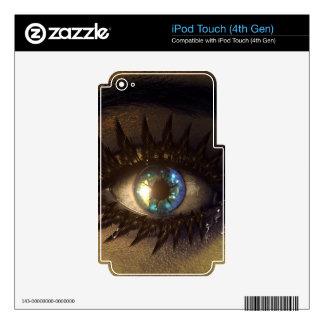 eye-448946 DIGITAL REALISM EYE FANTASY WOMAN MAKEU Decals For iPod Touch 4G