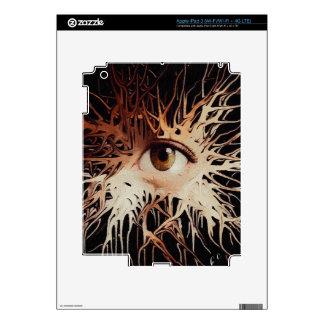 Eye Abstract Art iPad 3 Decals