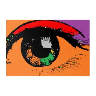 Eye Acrylic Wall Art