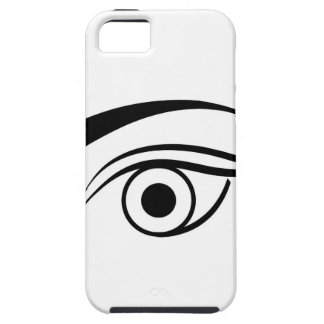 Eye and eyebrow iPhone 5 cover