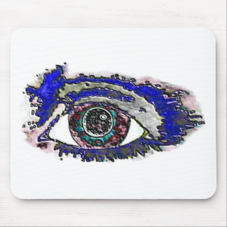 Eye art mousepad