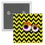 EYE badge: yellow Pinback Button
