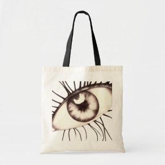 eye tote bags