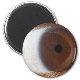 Eye Ball 2 Inch Round Magnet