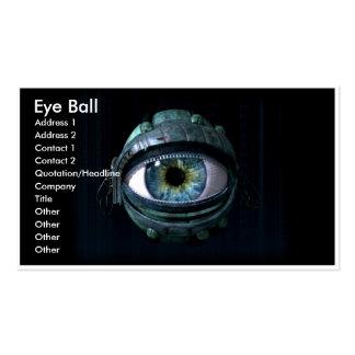 Eye Ball Business Card