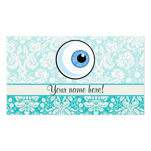 Eye Ball; Cute Double-Sided Standard Business Cards (Pack Of 100)