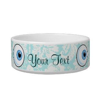 Eye Ball; Cute Pet Water Bowl