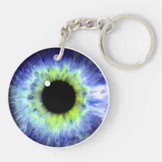 Eye Ball Double Sided Keyring