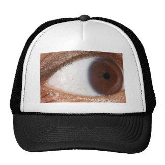 Eye Ball Mesh Hats