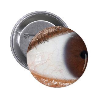 Eye Ball Pinback Buttons