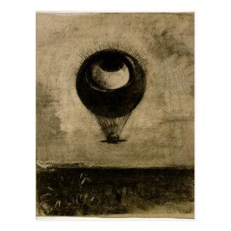 Eye Balloon Postcard
