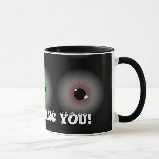 Eye Balls, I'M WATCHING YOU! Mug