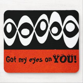 Eye Balls ~ Mousepad