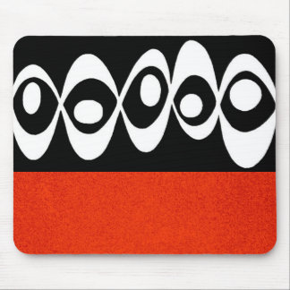 Eye Balls ~ Mousepad/ Abstract Modern Retro Cool Mouse Pad