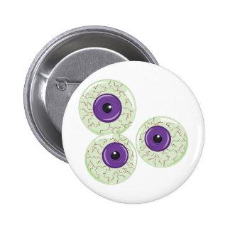 Eye Balls Pinback Button