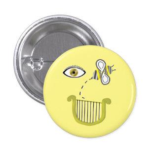 Eye Bee a Lyre Button