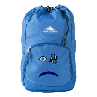 Eye Bee Blue Backpack