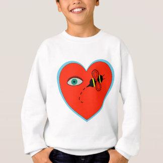 Eye Bee in Love Sweatshirt