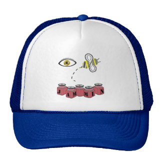 Eye Bee Jammin Trucker Hat
