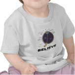 Eye Believe (Anatomical Humor) T-shirt