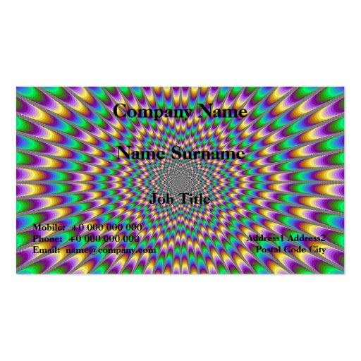 Eye Bender Card