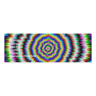 eye boggling psychedelic Card Business Card Templates