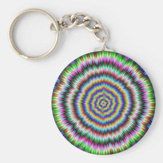 eye boggling psychedelic Keychain