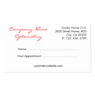 Eye Boutique Business Card