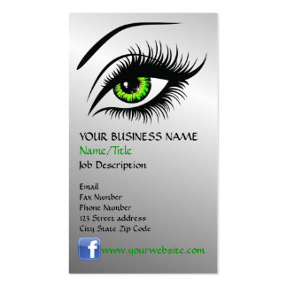 Eye Double-Sided Standard Business Cards (Pack Of 100)