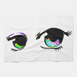Eye can see you kitchen towel