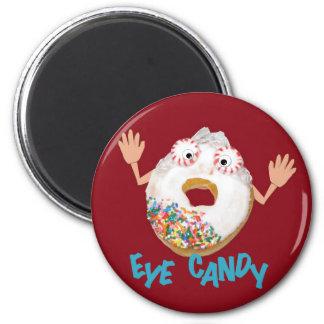 'eye candy'  humorous parody magnet