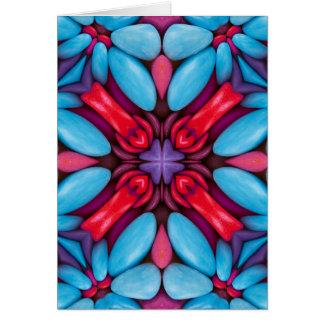Eye Candy Kaleidoscope Custom Greeting Cards