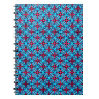 Eye Candy Vintage Kaleidoscope   Notebook