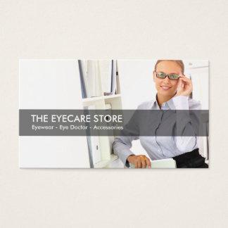 Eye Care And Optometrist Business Card