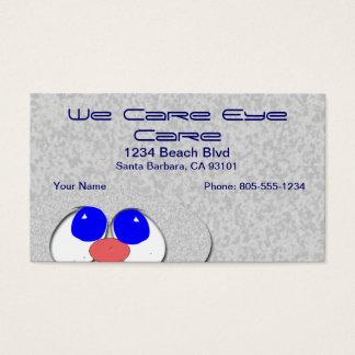 Eye Care Business Card
