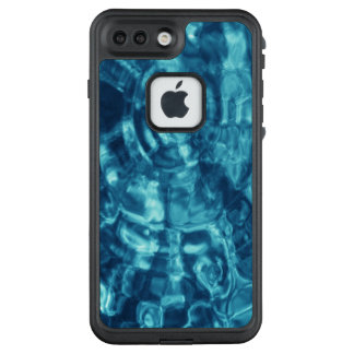 Eye-catching Abstract Blue Water Ripples LifeProof FRĒ iPhone 7 Plus Case