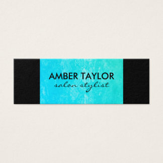 Eye Catching Colorful Grunge Mini Business Card