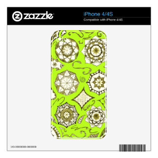 Eye Catching iPhone Cover Decal For iPhone 4