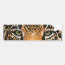 Eye-Catching Jaguar Bumper Sticker