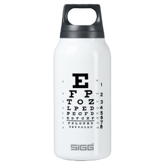 Eye Chart 16 oz. Insulated Water Bottle