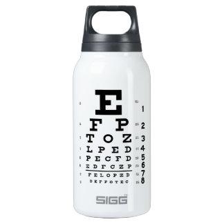 Eye Chart 32 oz. Insulated Water Bottle