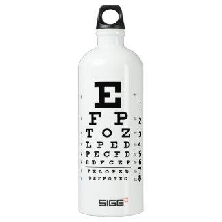 Eye Chart 32 oz. Water Bottle