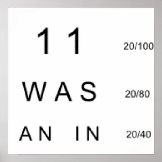 Eye Chart - 911 Truth