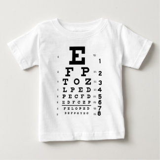 Eye Chart Baby T-Shirt