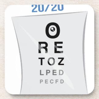 Eye Chart Drink Coaster