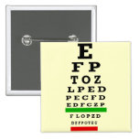 EYE CHART Gifts Buttons