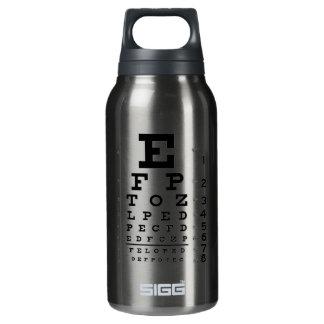 Eye Chart Insulated Water Bottle
